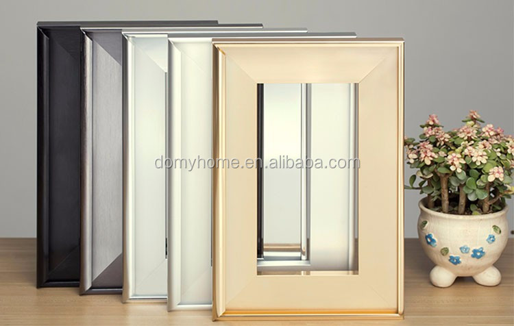 Small Order Acceptable Silver White Black Chamgne color Aluminum Frame Kitchen Cabinet Glass Doors