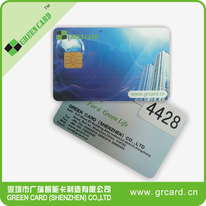 contact chip 4428 IC Card