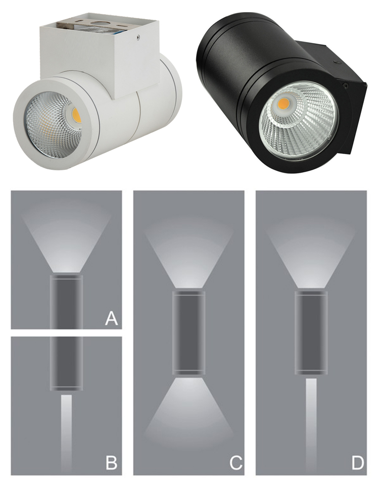 INNOVALIGHT 30W SHARP CHIPS UP&DOWN led light outdoor wall recessed