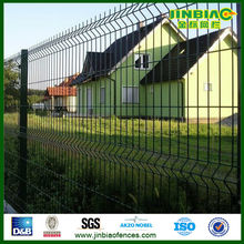 bending triangular wire mesh courtyard/landscaping fence