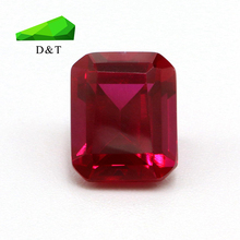 Wuzhou Manufacturer Lab Created Synthetic red ruby corundum Price Carat