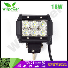 6 led side truck lorry lights 24v 18W car accessories 4x4 led light bar super slim off road tow truck led light bar