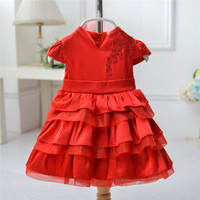 Online shopping western latest kids party wear dresses for girls