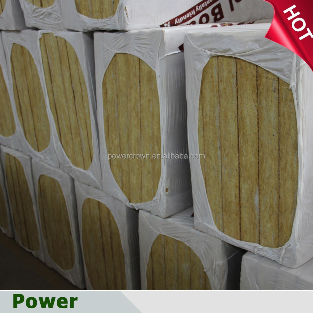 fireproof sound insulation rockwool wall panel thermal insulation board price
