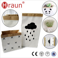 Eco-Friendly Reusable Paper Shopping Market Bag