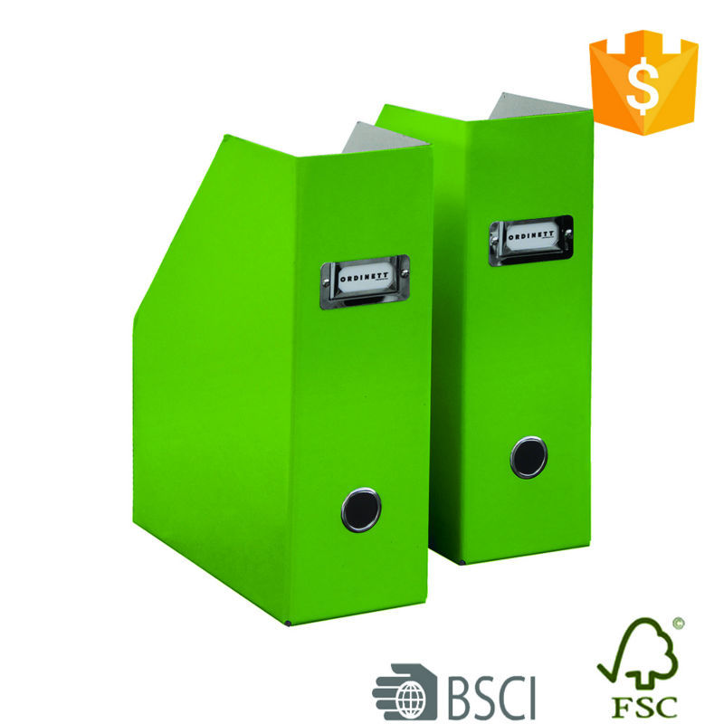 Low carbon living green file folders