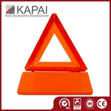 Strong Plastic Packing Sign Reflective Warning Triangle