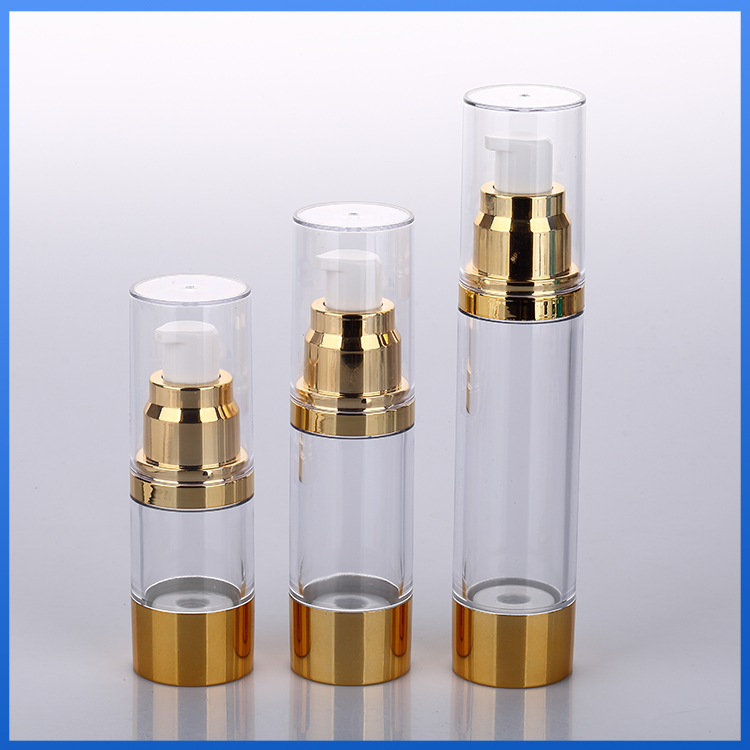 Can be customized airless pump bottle 5ml
