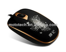 Stylish optical mouse wired optical Mouse with Energy-saving sensor with 1000 dpi