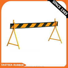 Black and Yellow Heavy Duty Plastic Temporary Fence Barrier