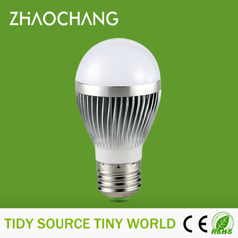 Dimmable E27 with 6 x 5730 SMD LEDs led bulb 3w