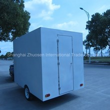 Modern New Food Machine Product Launch Electric Snack Cart with Wheels in China