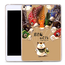 Cat and Fish Soft TPU Silicone Custom Case Cover For iPad