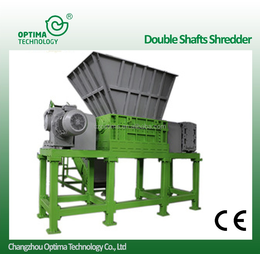 Woven bag Single shaft shredder shredding crushing machine