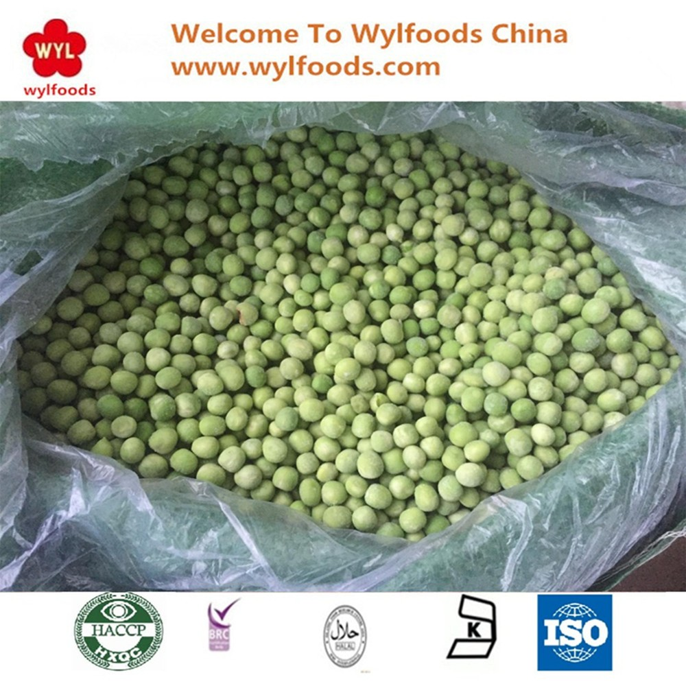 Chinese Wholesale IQF Frozen Green Pea