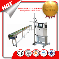 Hot Sale Industry continuous Inkjet Printer expiry date inkjet printing machine with CE good price