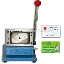 54*86mm Manual Plastic Card Die Cutting Punching Machine