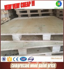 compressed wood pallet price