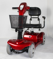 four wheel motor electric mobility scooter for elderly