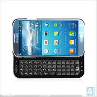 Side Sliding Bluetooth Keyboard for Samsung Galaxy S4 I9500 P-SAM9500BLUEKB004