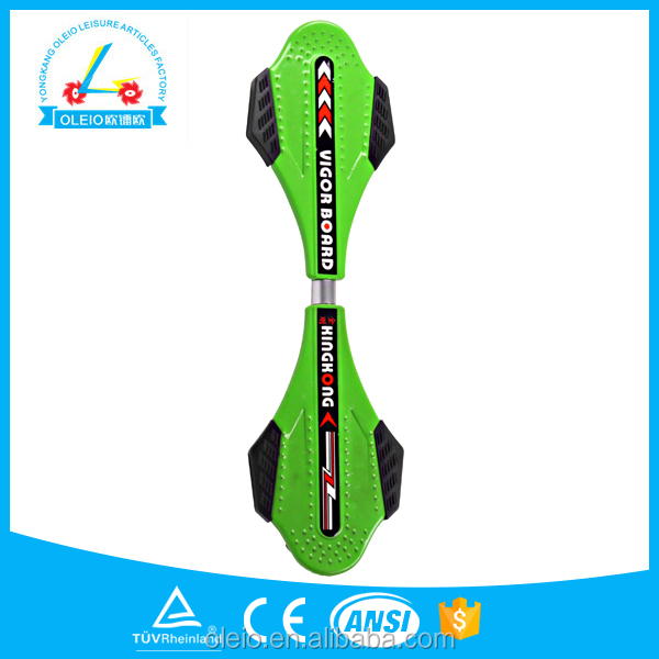 2016 hot sale PU wheel street surfing wave board