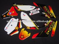 best selling CRF70 motorcycle sticker design