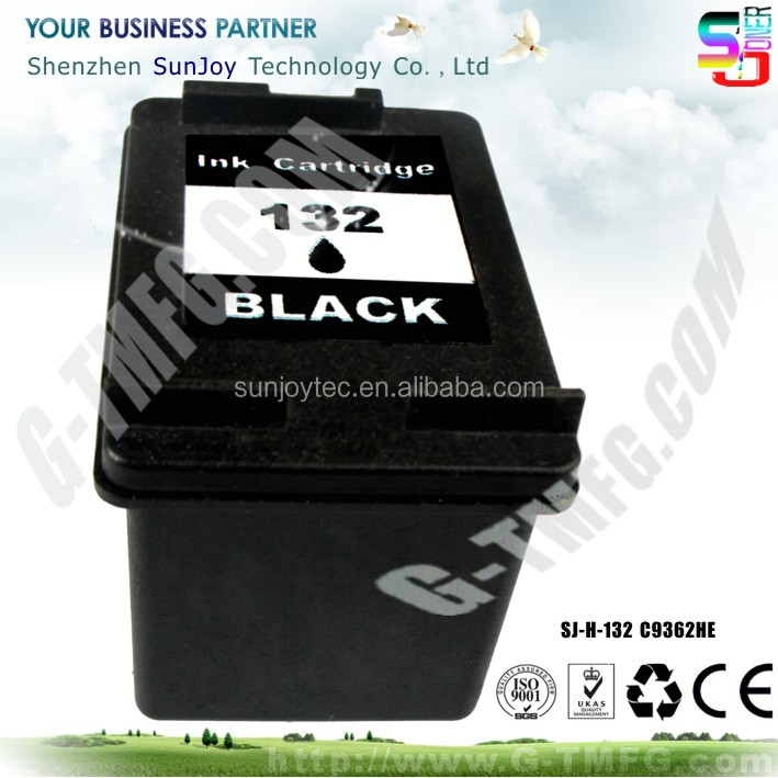 Wholesale Printer Ink Cartridge Compatible C9362HE 132 for HP Officejet 6313 All-in-One Printer, Fax, Scanner, Copier(Q8061C0)