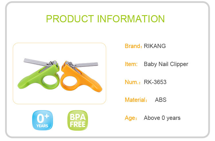 New Design Safety Stainless Steel Baby Nail Clipper