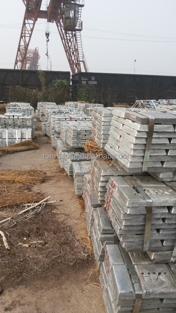 zinc ingot 99.99% with best price