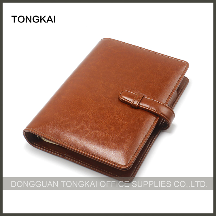 A5 Pu Leather Notebook Cover for Planner or Organizer