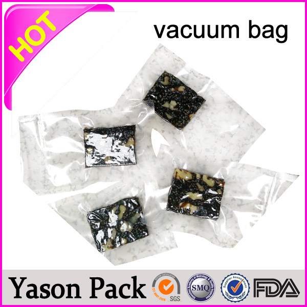 Yason food vacuum bags pet/pe laminating vacuum ziplock bags for food packaging coffee vacuum pack