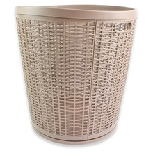 Competitive price supermarket rattan basket for laundry