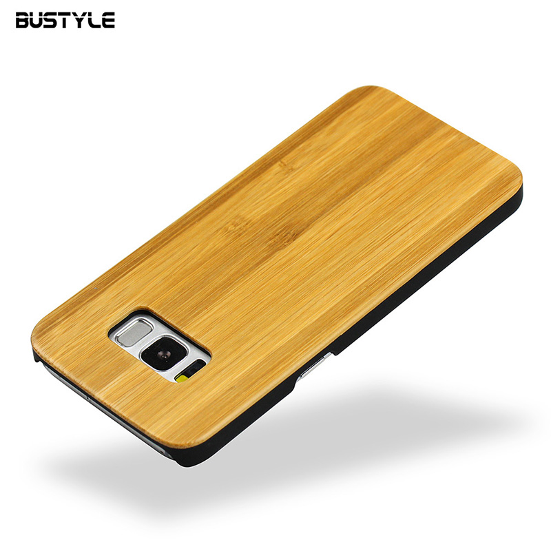 Wholesale Mobile Phone Bamboo Wood Cover for Samsung galaxy S8 plus Case