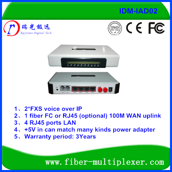 1WAN 4LAN 1Fxo 2Fxs Voip Phone Adapter