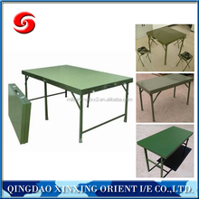 convenient simple modern design metal folding table/cheap military camping metal folding table/metal folding table for sale
