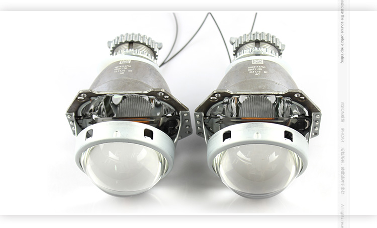 IPHCAR New updated 3.0 inch demon eyes D2H D2S HID high and low beam projector lens headlight for automotive motor