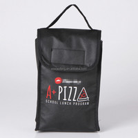 custom print non woven pizza lunch delivery bag