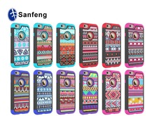 Latest Fashion Luxury PU Leather + Silicone Case Cover For iPhone 6S - HAKUNA MATATA Tribe