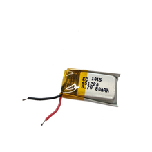 Rechargeable 400912 3.7V li-ion ion lithium polymer 20mAh lipo battery