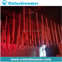 Madrix music disco club stage rgb pixel 3d DMX led meteor tube light