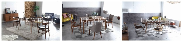 Pu Modern Comfortable Hot Sale High Quality Minimalist Design Cheap Wooden Dining Chair
