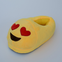 Hot sale New model high quality winter fashion lady indoor slipperr emoji slippers for women