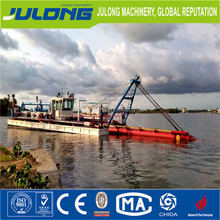 Julong new river sand dredging boat/sand mining dredgers hydraulic/cutter dredger price