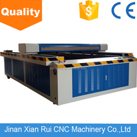 High precision XRCL 1813 acrylic sheet laser cutting machine with rotation RECI laser tube