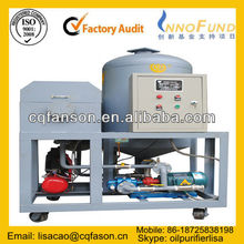 Fire-resistant Decoloring oil purifying Equipment, Heavy fuel oil filtration, Mobile Oil Purifier / Oil Recycling