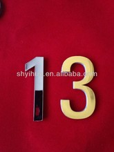 cheap 3D letter & number sticker for car