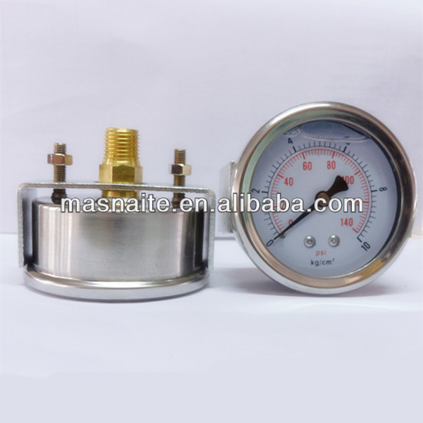 low price oil filled clamp meter pressure gauge