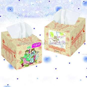 Virgin Wood Pulp 2 Ply Disposable Facial Tissue OEM Factory