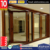 European Design Aluminium Cladding Wood Glass Bi Folding Door