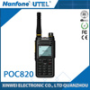 3G WCDMA Network Wifi Network POC Radio PMR Frequency Range Two Way Radio with Colorful LCD Display
